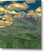 View To The Mountain Metal Print