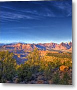View Zion From Afar Metal Print