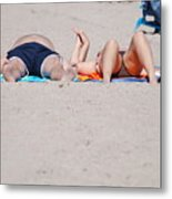 Views At The Beach Metal Print