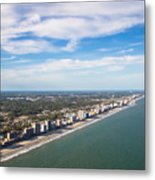 Views From Above Metal Print