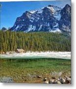 Views From Lake Louise Alberta  Metal Print