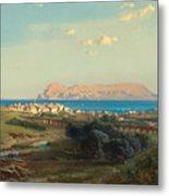 Views Of Algeciras On The Rock Of Gibraltar Metal Print