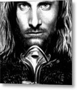Viggo Mortensen Metal Print