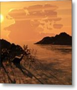 Viiew On The Day Of My Birth Metal Print