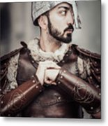 Viking Warrior Metal Print