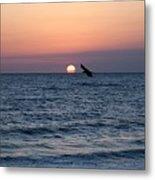 Vilano Beach At Sunrise Metal Print
