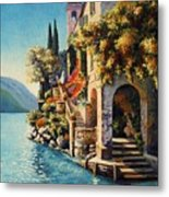 Villa Balbianello Lake Como Metal Print