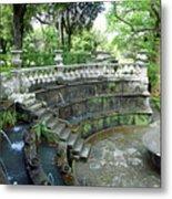 Villa Lante Garden Metal Print
