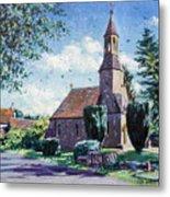 Village Church  Metal Print