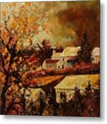 Village Curfoz Metal Print