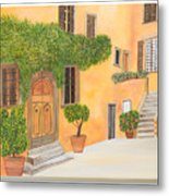 Village In Tuscany N. 4 - Metal Print