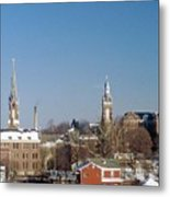Village Of Spires Metal Print