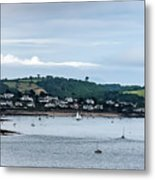 Village On The Sea Metal Print