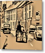 Village Scene Ireland Metal Print