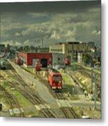 Vilnius Depot  Metal Print