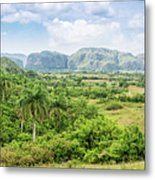 Vinales Valley Metal Print