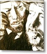 Vincent And Douglas Metal Print