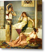 Vincent Stiepevich In The Harem Metal Print