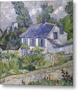 Vincent Van Gogh, Houses At Auvers Metal Print