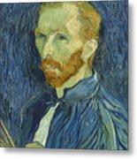 Vincent Van Gogh Self-portrait 1889 Metal Print
