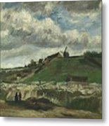 Vincent Van Gogh, The Hill Of Montmartre With Stone Quarry, Paris Metal Print