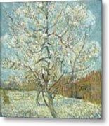 Vincent Van Gogh, The Pink Peach Tree Metal Print