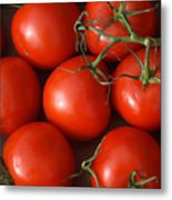 Vine Ripe Tomatoes Fine Art Food Photography Metal Print