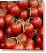 Vine Ripe Tomatos Metal Print by John Trax