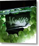 Vinegar Metal Print