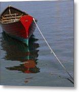 Vineyard Haven Reflection Metal Print