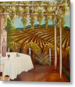 Vineyard II Metal Print