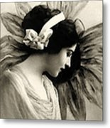 Vintage Beauty Metal Print
