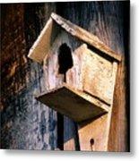 Vintage Birdhouse Metal Print