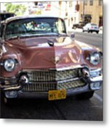 Vintage Cadillac. Luxury From The Past Metal Print