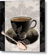 Vintage Cafe IIi Metal Print