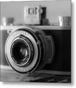 Vintage Camera C10p Metal Print