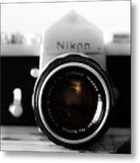 Vintage Camera C20m Metal Print
