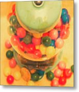 Vintage Candy Machine Metal Print