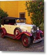 Vintage Car In Funchal, Madeira Metal Print