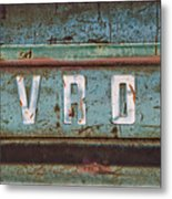 Vintage Chevrolet Tailgate Metal Print