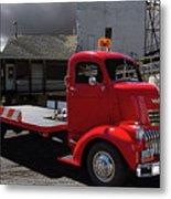 Vintage Chevrolet Truck Metal Print