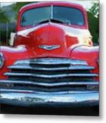 Vintage Chevy Pickup Truck Metal Print