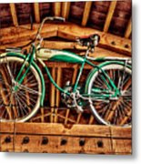 Vintage Cicycle Metal Print