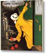 Vintage Coffee Advert - Circa 1920's Metal Print