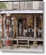 Vintage Country Store Usa - Circa 1939 Metal Print
