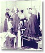 Vintage Dressmakers Metal Print
