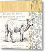 Vintage Farm 3 Metal Print
