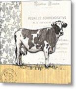 Vintage Farm 4 Metal Print by Debbie DeWitt
