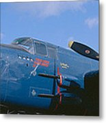 Vintage Fighter Aircraft, Burnet, Texas Metal Print