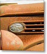Vintage Ford Truck Metal Print
